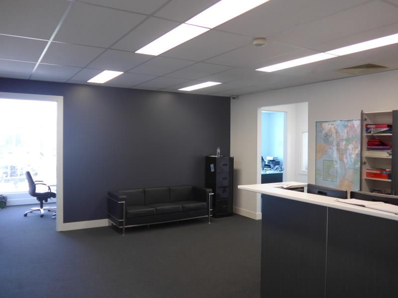 TWO LEVEL OFFICE SHOWROOM WITH WAREHOUSE