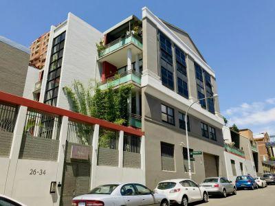 Split Level Two Bedroom Apartment with City & Bridge Views