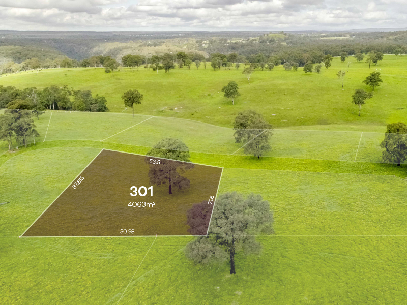 Tahmoor Lot 301 |  165 - 185 River Road,