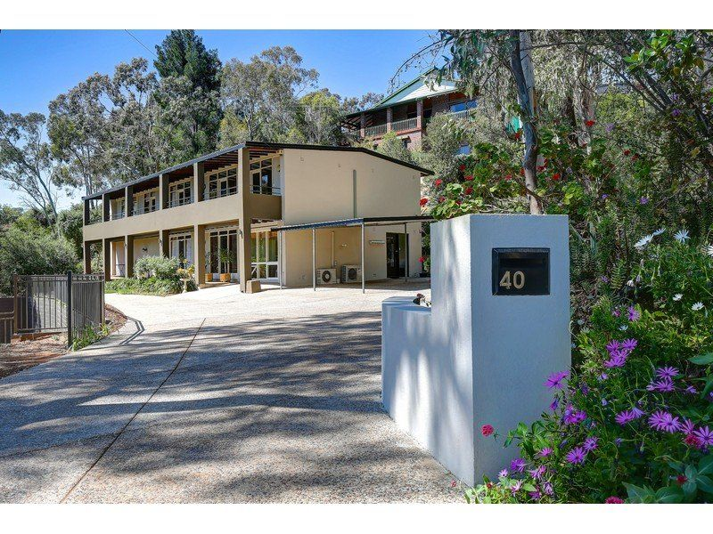 Serene Foothills Location Above Rostrevor College With Views Of City Lights–Allotment Of Approx 1016 sqm– Formal + Informal Living-5 Bedrooms 2 B'