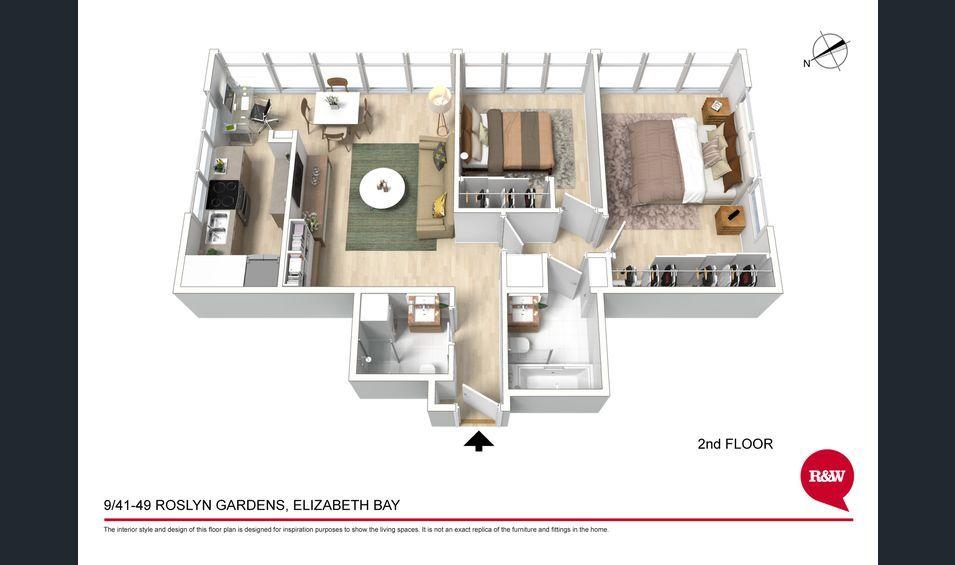 9/41-49 Roslyn Gardens, Elizabeth Bay