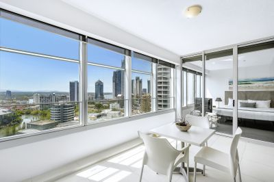 SPECTACULAR Q 1 ONE BEDROOM PLUS STUDY/2ND BEDROOM APARTMENT