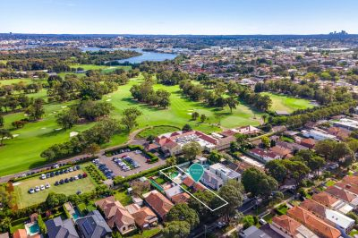 Build the dream in Concord's finest tree lined street, surrounded by prestige homes and enjoying a beautiful outlook over Concord Golf Course.