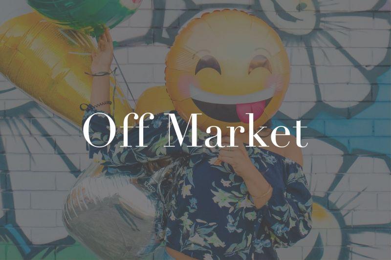 SOLD OFF -  MARKET