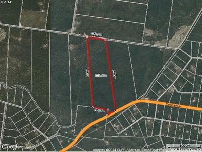 TOTAL Cheap Vacant Land 103.4 ha (255.507a) Finance Guaranteed To Genuine Buyer.