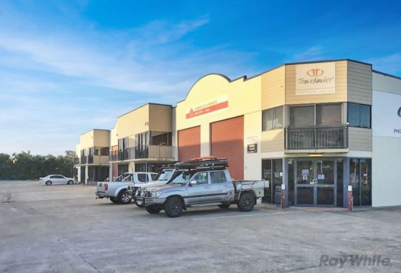 Large Industrial Warehouse Facility Fronting Bribie Island Road