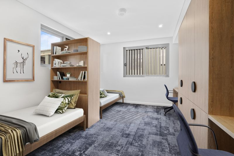 Deluxe  fully furnished Twin Share Studio