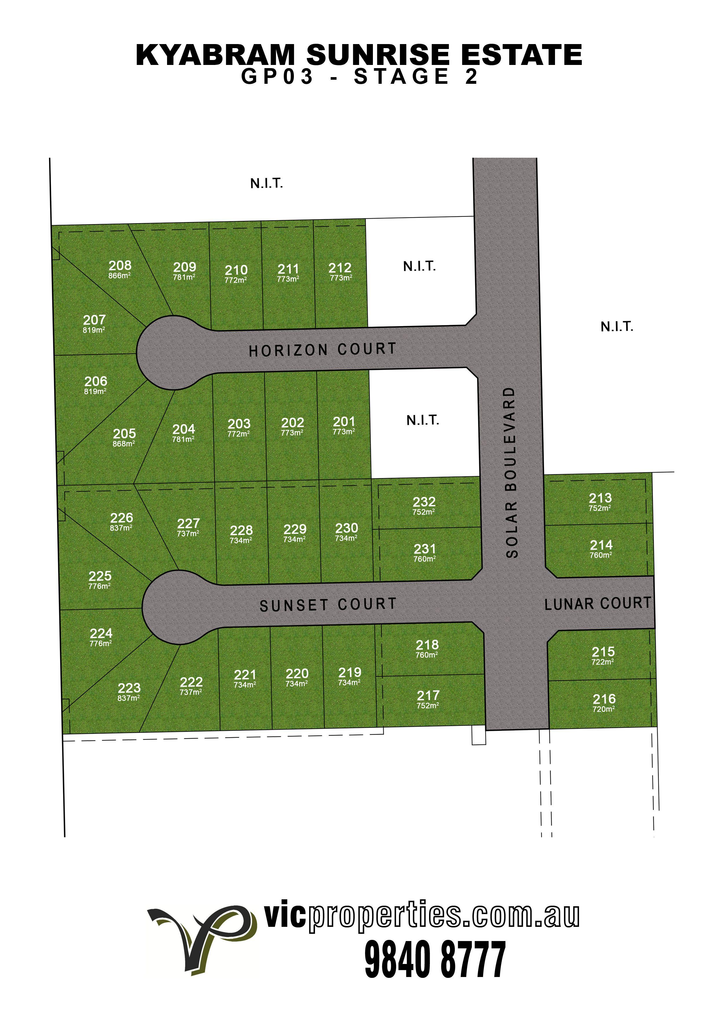 Lot 223/ Sunset Court, Kyabram VIC 3620