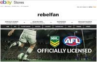 eBay Store - rebelfan (AFL, NRL licensed sports merchandise)