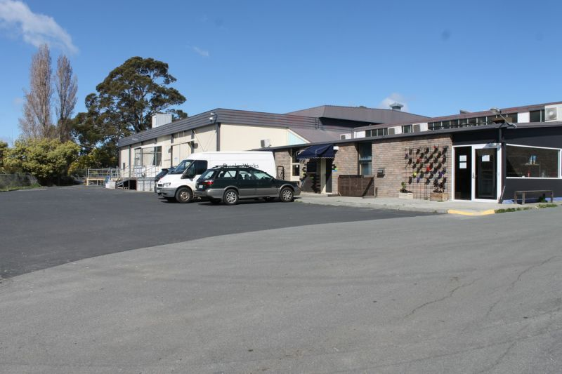 SUBSTANTIAL INDUSTRIAL COMPLEX  -  GLENORCHY